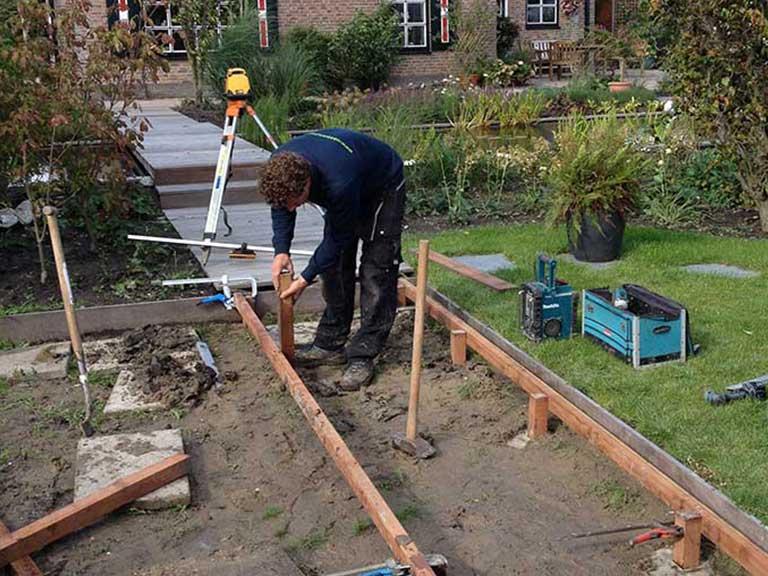 Wat we doen for Aanleg kleine tuin